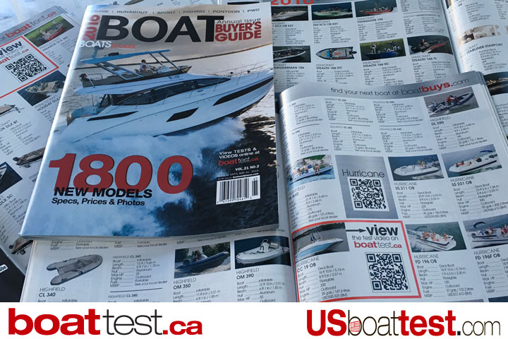 BoatTest.ca and USBoatTest.com are now featured on BoatBuys.com