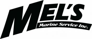 Mels Marine Service Logo