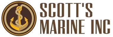 Scott's Marine Logo