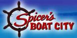 Spicer's Boat City Logo