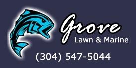 Grove Lawn & Marine Logo
